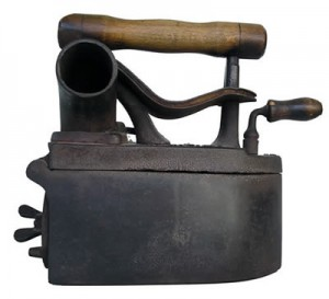 Antique Clothing Irons For Sale