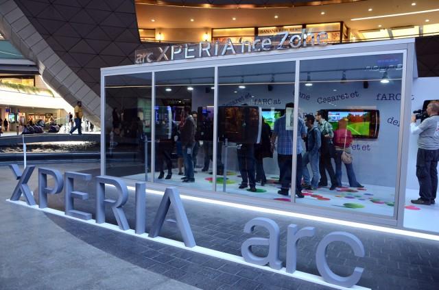Sony Ericsson Xperia Arc Türkiye Lansmanı