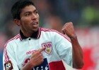 GERMANY - MARCH 15:  Fussball: VfB Stuttgart/am 15.03.1997, Giovane ELBER  (Photo by Bongarts/Getty Images)