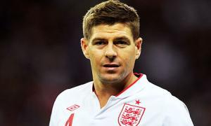 Steven Gerrard is poised to make his 100th appearance for England against Sweden.