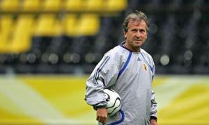 Japan coach Zico of Brazil