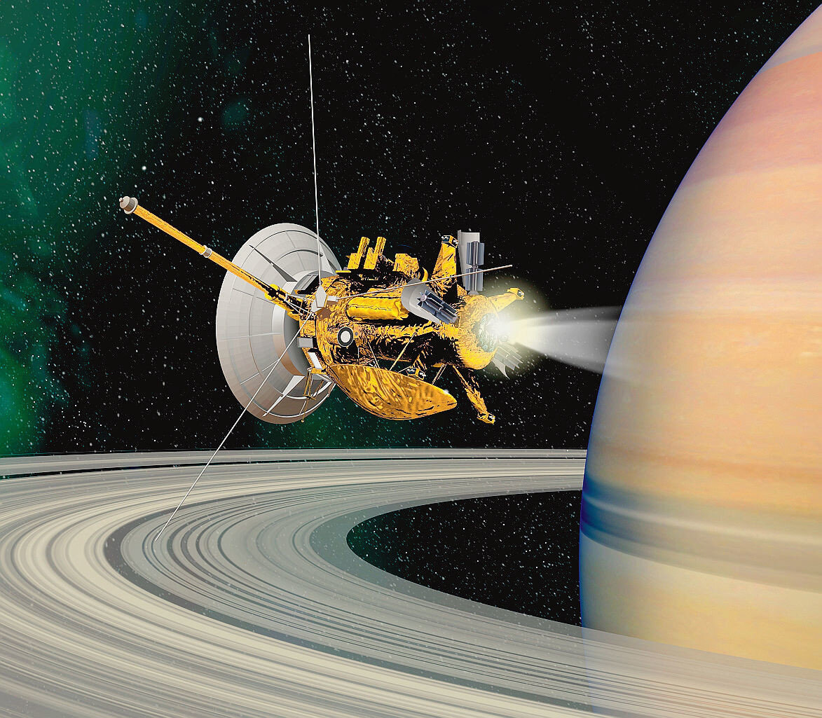 saturn cassini spacecraft - 900×786