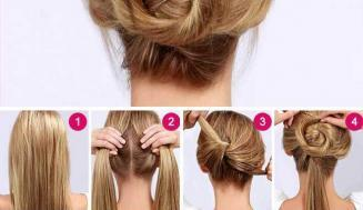 Evde Kolaylıkla Uygulayabileceğiniz Saç Modelleri