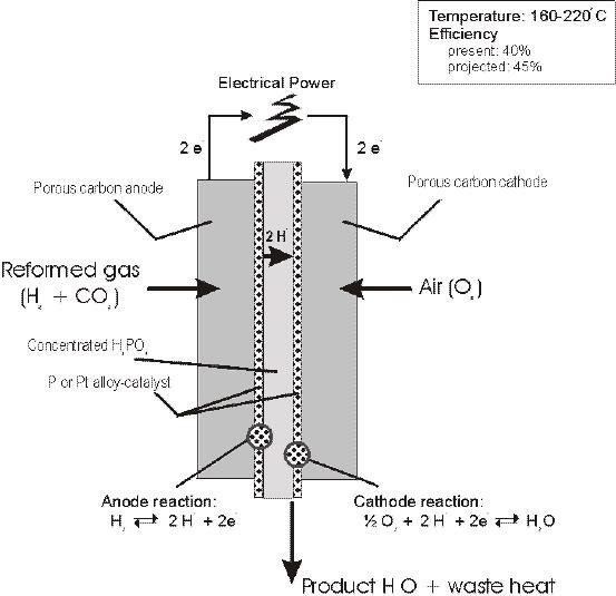 Phosphoric acid fuel cell
