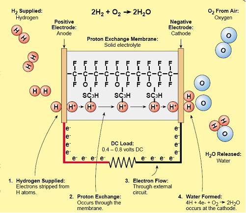 Hidrojen Yakıt Pili Çeşitleri Nelerdir?